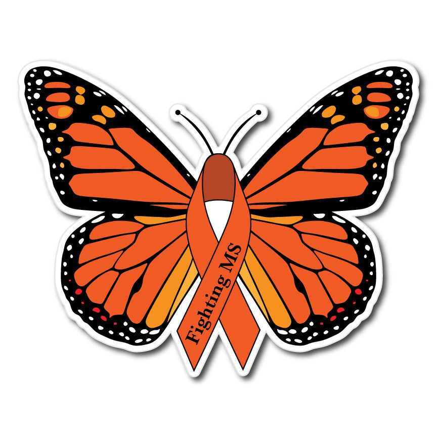 f489b3afa SET OF MULTIPLE SCLEROSIS MS AWARENESS STICKER DECAL OR MAGNET #ThePatchLab