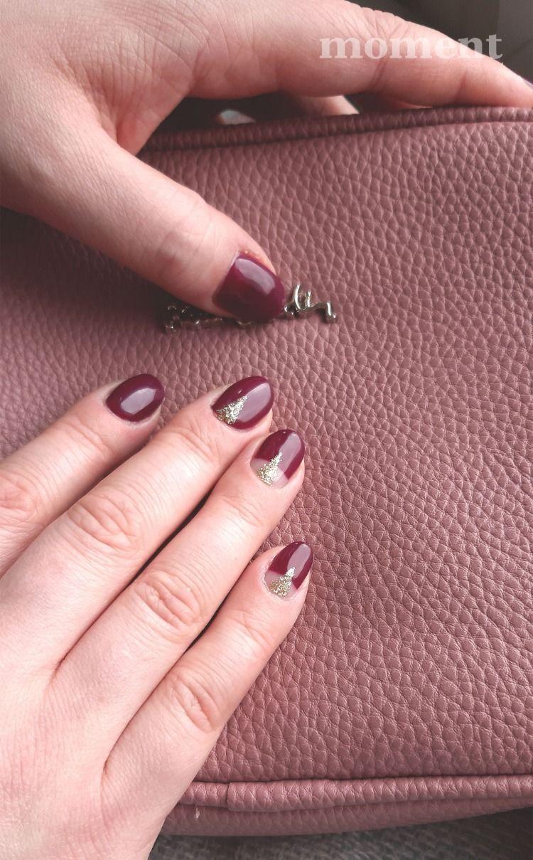 Manicure W Kolorze Bordowym To Idealny Wybor Na Wazna Randke Lub