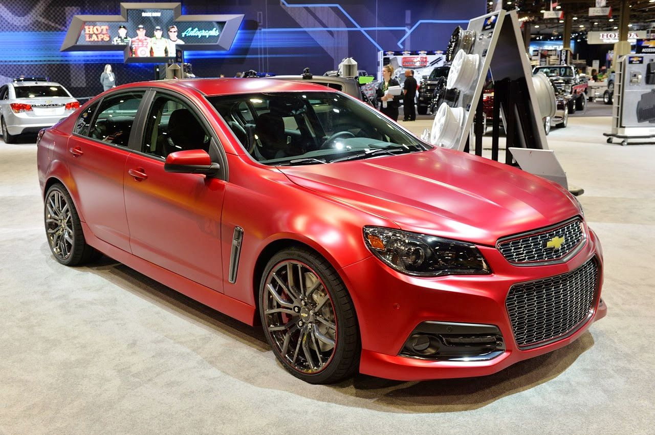 View detailed pictures that accompany our chevrolet jeff gordon ss performance sedan concept sema 2013 article with close up photos of exterior and