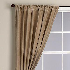Latte Velvet Curtain