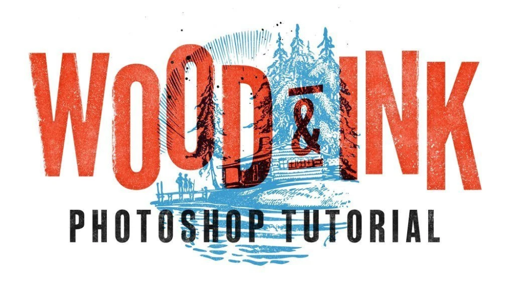 How to Create a Wood Type Inspired Design in Photoshop