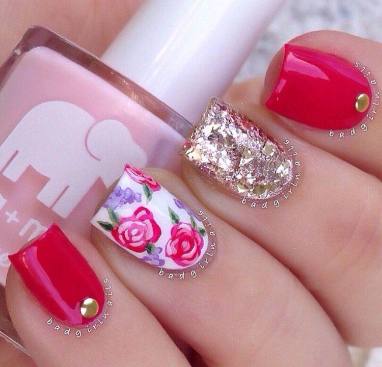 @badgirlnails nail-art♥♥