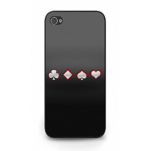Iphone 5/5s Back Cover Simple Poker Pattern HardCover Case for Iphone 5/5s. A plastic back cover. Protect your expensive device. Soft interior silicone design for shockproof. Full access to buttons and speakers. This is a best gift for your friends and your family.