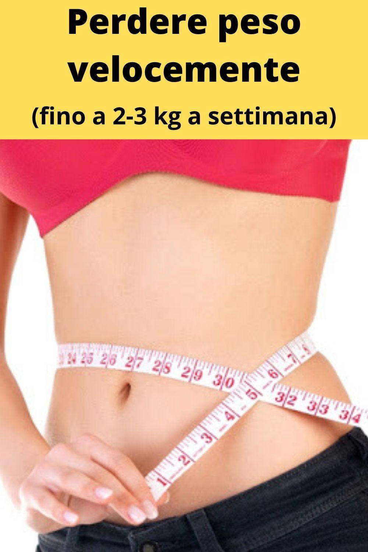 perdere grasso addominale in una settimana