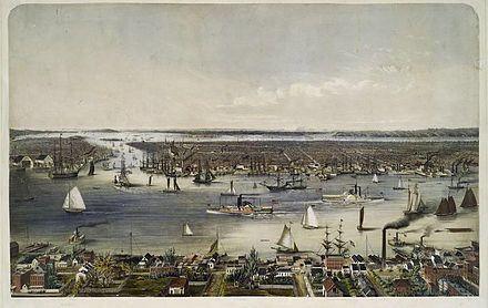 Image from https://upload.wikimedia.org/wikipedia/commons/thumb/9/98/NYC_1848.jpg/440px-NYC_1848.jpg.