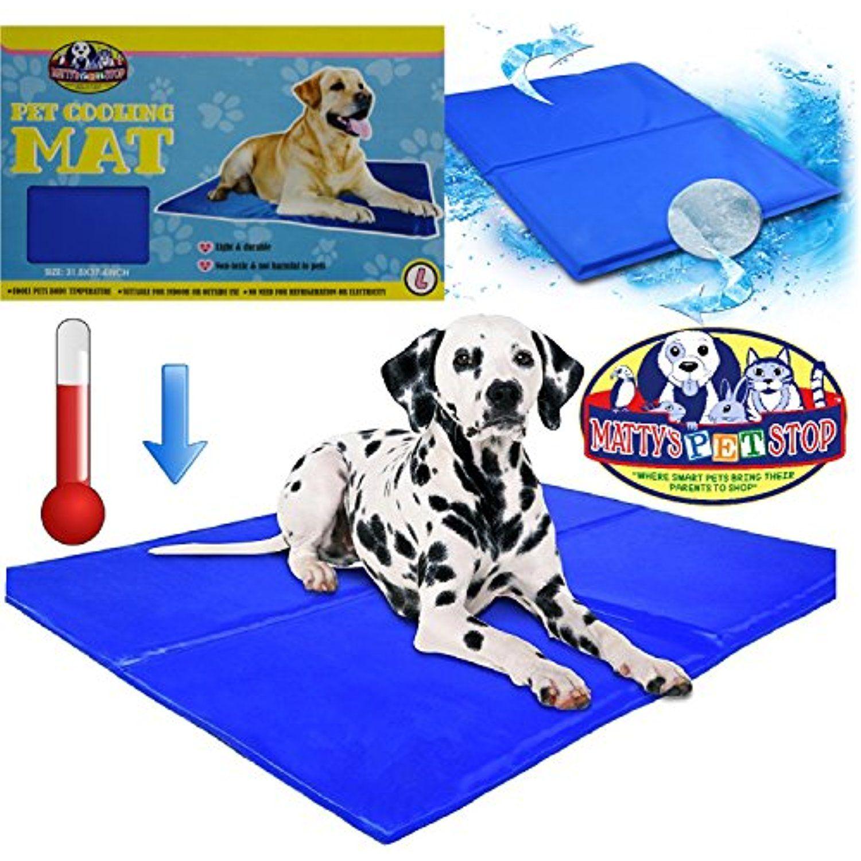 Matty S Pet Stop Pet Cooling Mat Large 37 4 X 31 5 Indoor