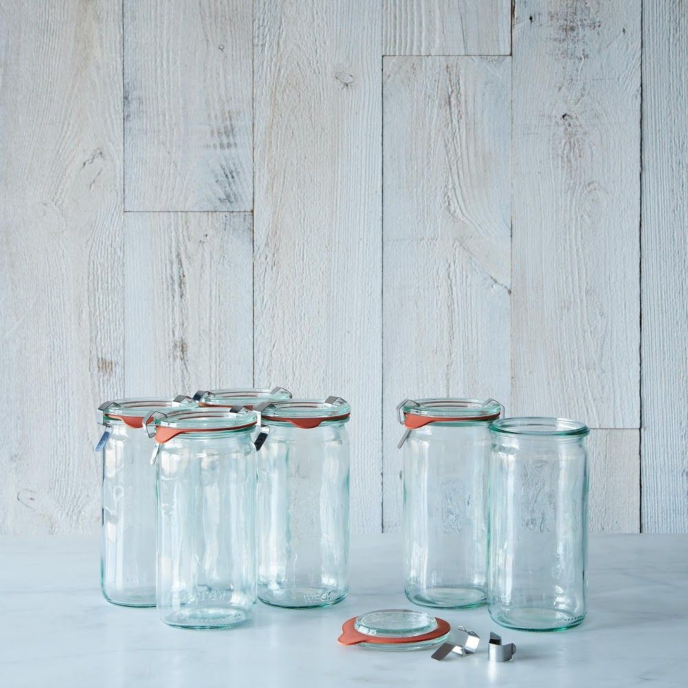 Weck Asparagus Jar 11.5 Ounce (Set of 6)   Jar, Butler pantry and Pantry