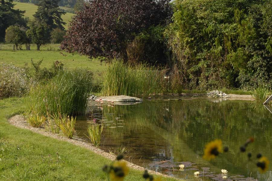 Natural Swimming Pond Designs from Gartenart Outside Forever