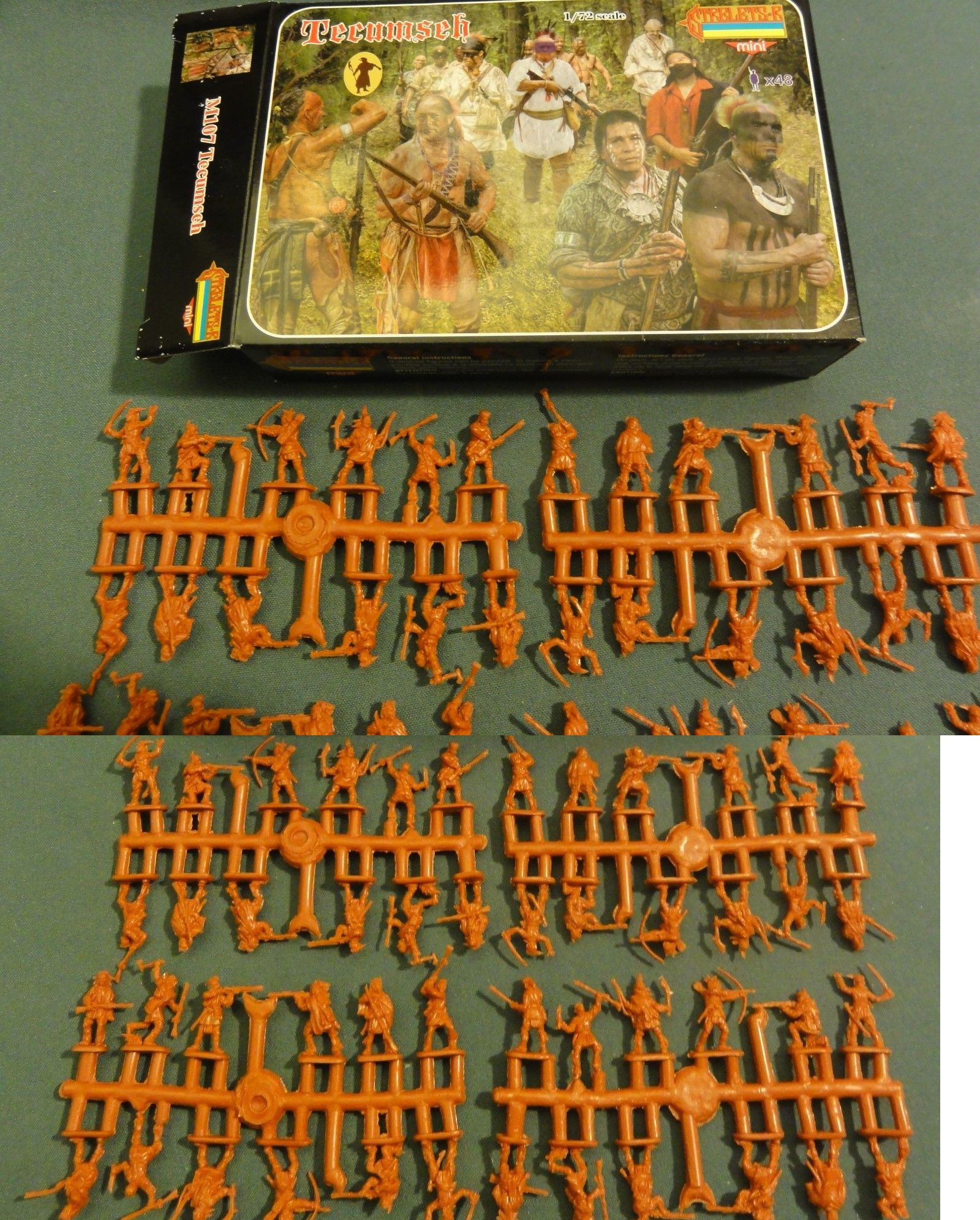 Strelets 1//72 M107 Tecumseh Figur kit w//Box 113022