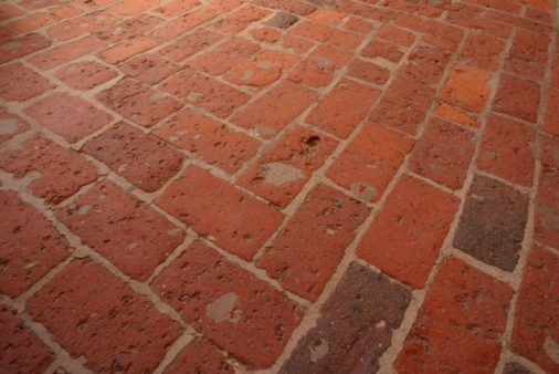 How To Seal Interior Brick Floors With Wax Flooring Floor And