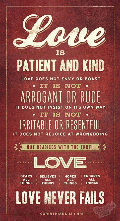 Verse On Canvas 1 Corinthians 1348 Por Randysdesign