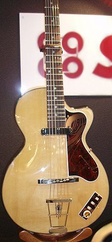 The Hofner Club 40 as used by John Lennon.
