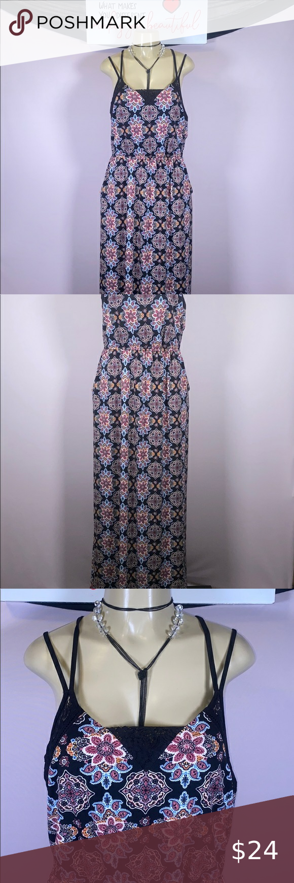 Xhilaration Maxi Dress Size Xxl Maxi Dress Beautiful Maxi Dresses Clothes Design [ 1740 x 580 Pixel ]