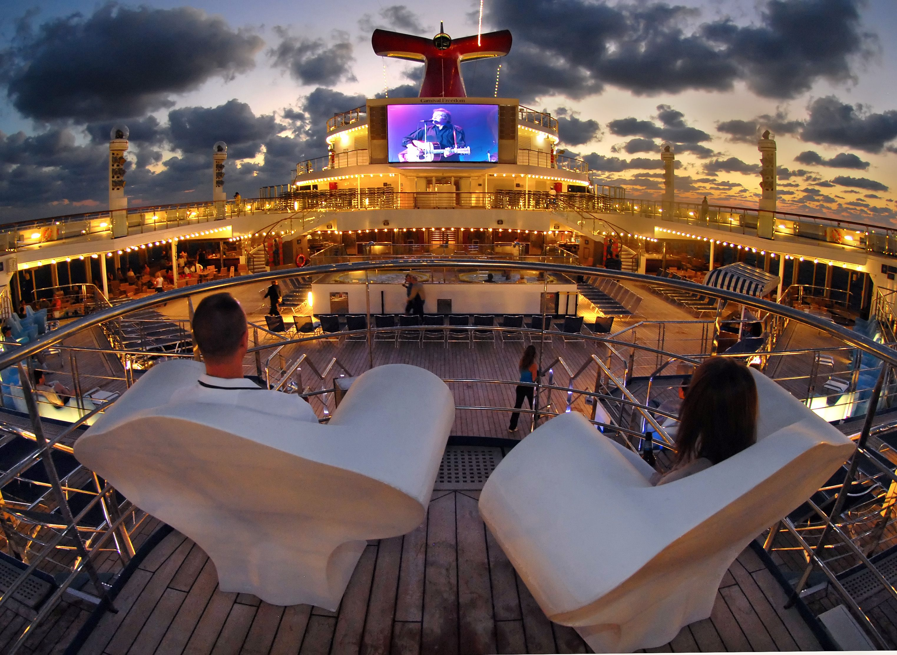 Enjoy The Onboard Entertainment Cruise Ships Have At Least