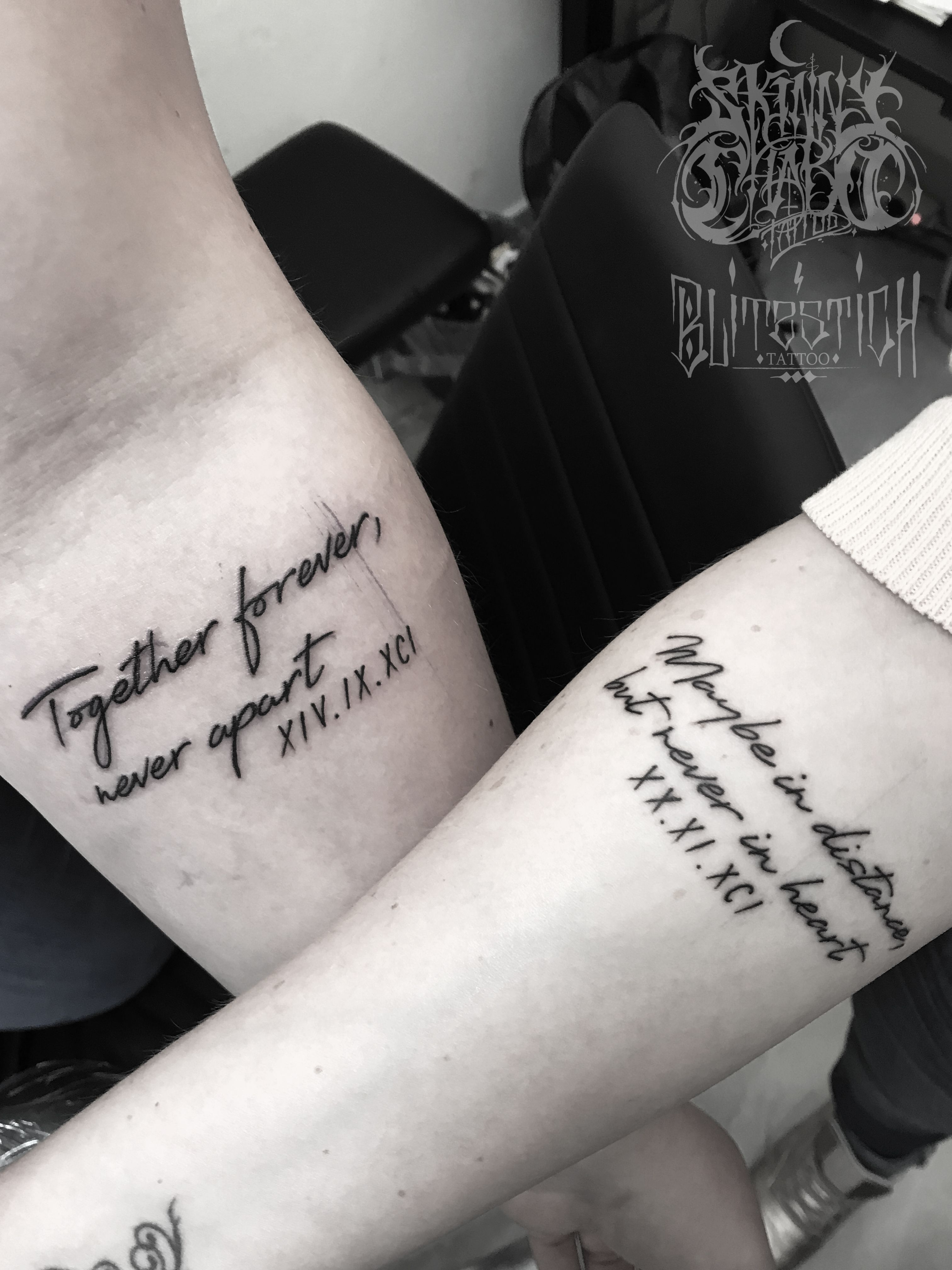 Tattoos liebe partner This Woman