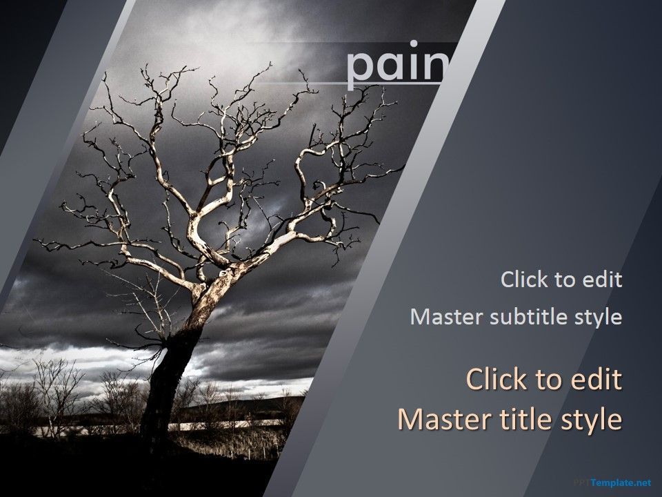 Effective in treating those who are going through the death of a ppt template free powerpoint template for presentations toneelgroepblik Gallery