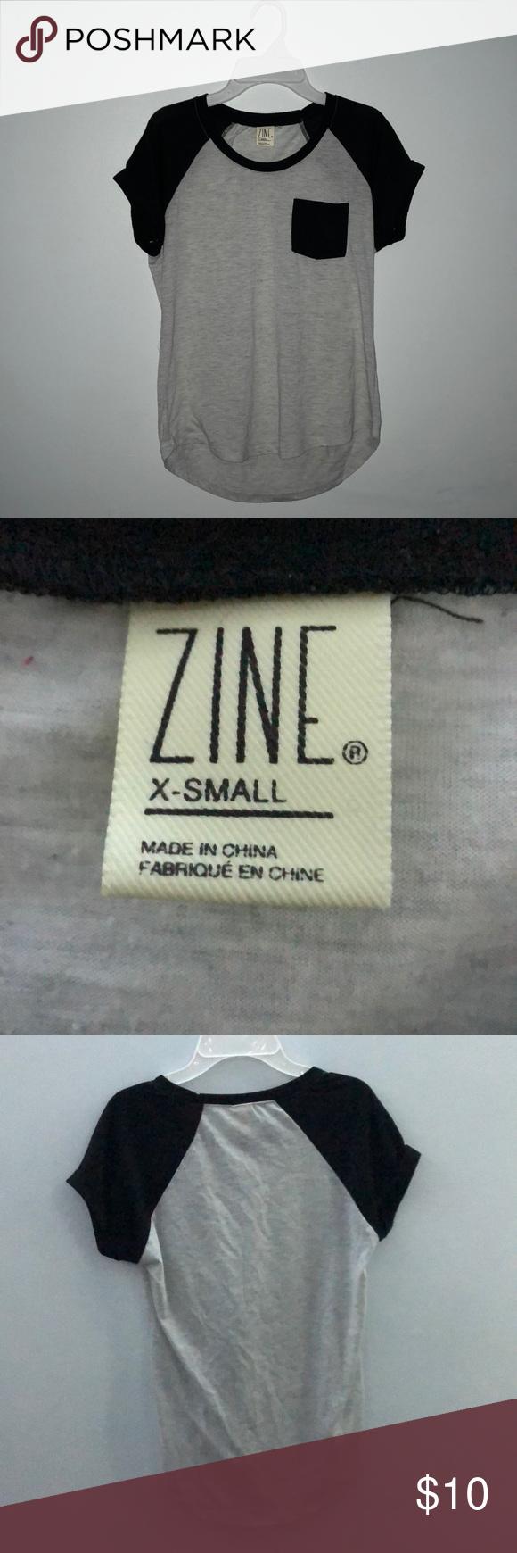 Zumiez baseball tshirt short sleeves shorts and gray
