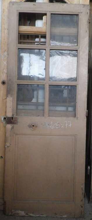 C1VA17 PORTE Du0027INTERIEUR VITREE EN PIN Déco Pinterest - decoration portes d interieur