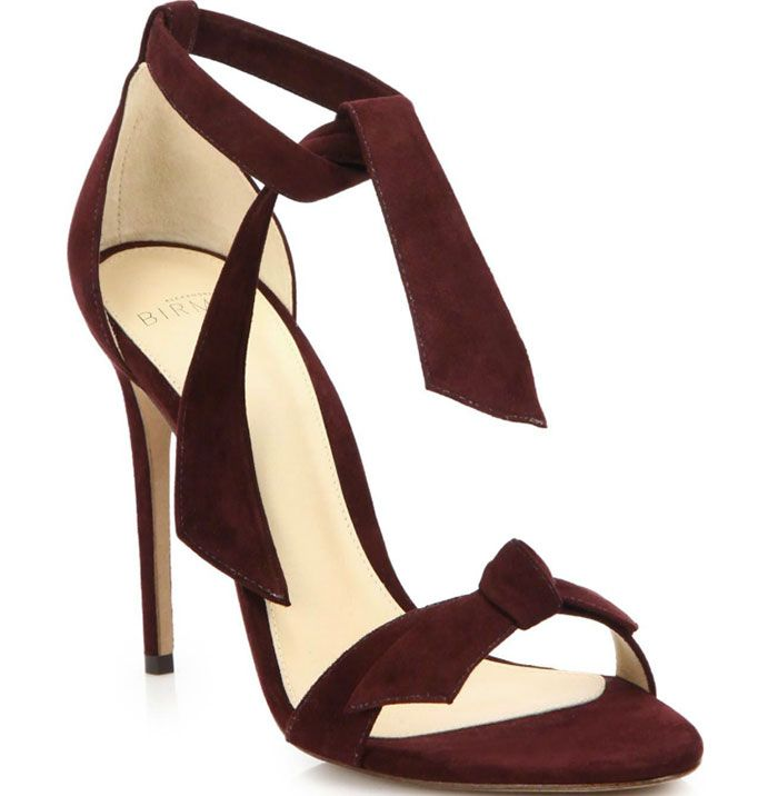 Alexandre Birman Ankle-Tie Sandals