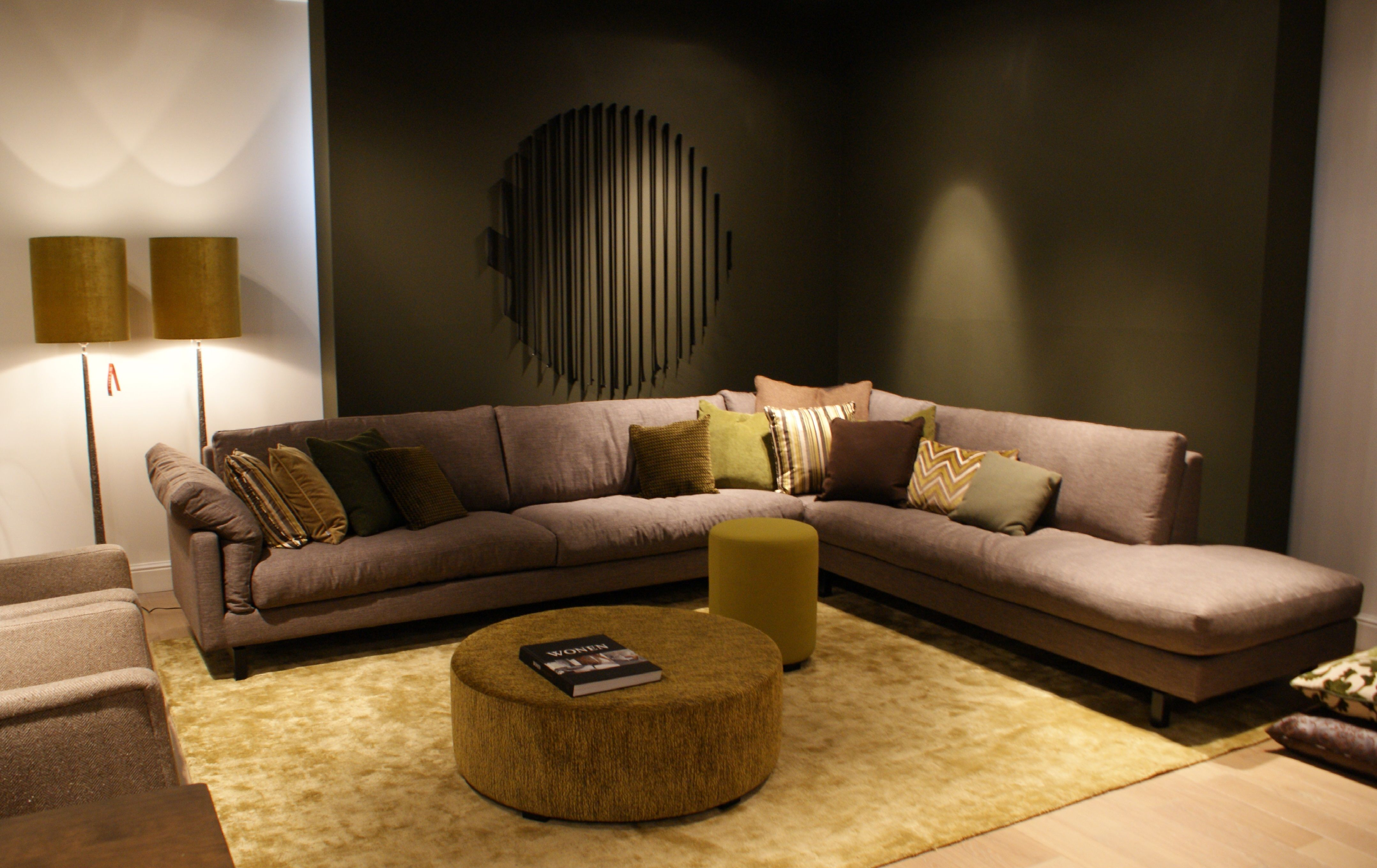 Otto Loungebank Baan Showroom L 2015 L Otto Bank Baan Showroom Waddinxveen 2015