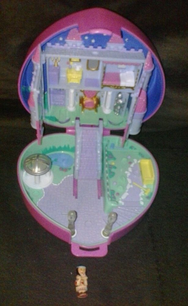 bluebird polly pocket heart castle - with polly vintage 1992