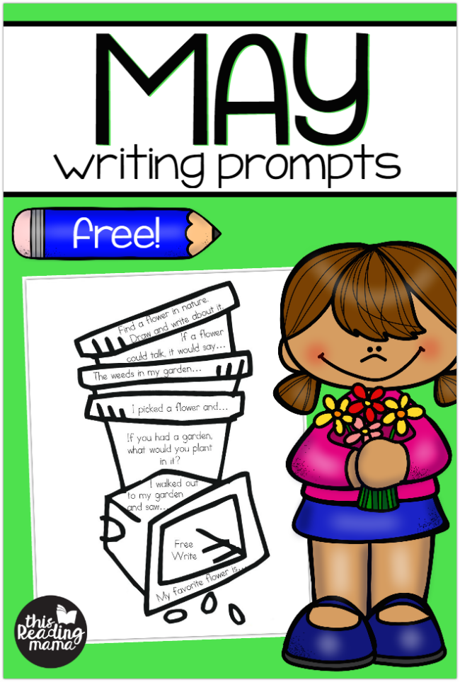 Free May Writing Prompts | Best of This Reading Mama