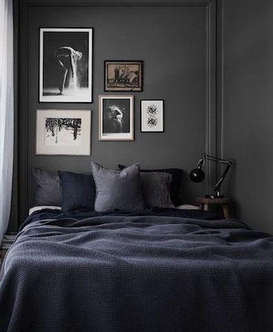 dark bedroom wall idea 10 Dark bedroom walls   Interiors   Dark bedroom walls, Bedroom, Bedroom black
