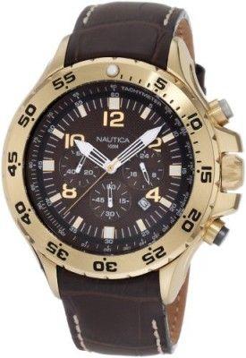 e8b8203fe92 Relógio Nautica Men s N18522G NST Chronograph Watch  Relogio  Nautica