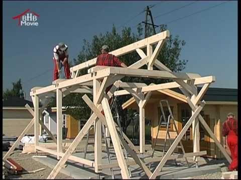 bertsch holzbau montagefilm modell carport prestige houtconstructies pinterest holzbau. Black Bedroom Furniture Sets. Home Design Ideas