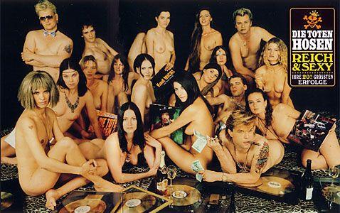 du hast Glück, dass du deine Brüste hast, damit du Gesellschaft hast = O