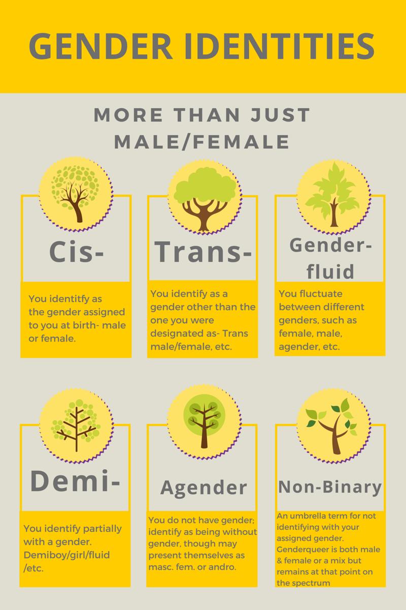 sexual identities;