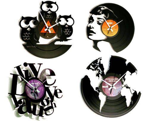 Ideas para decorar con discos de vinilo Hogar y estilo discos de vinilo Pinterest Discos