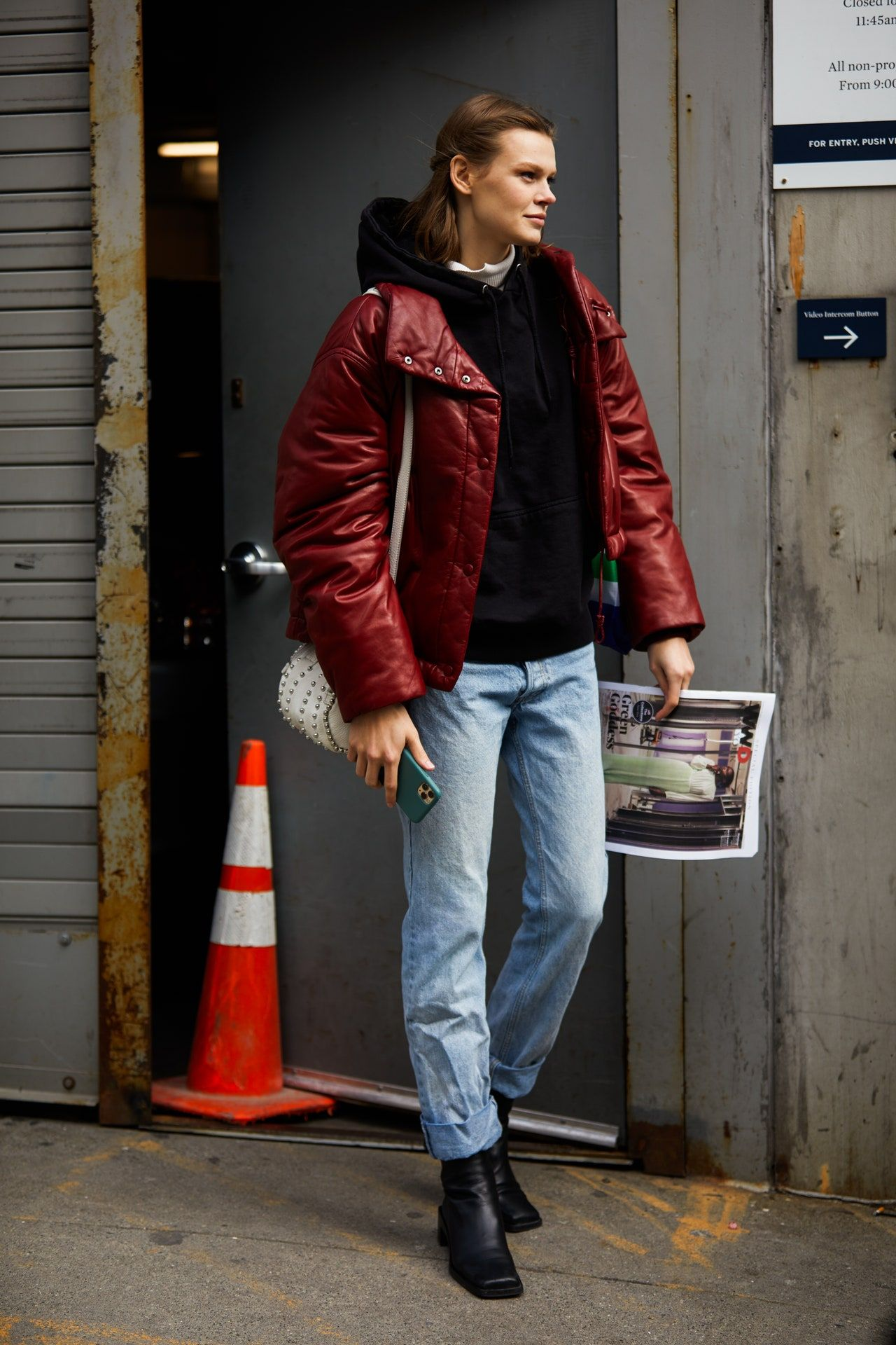 Epingle Sur Fw 20 21 New York Street Style From Vfr