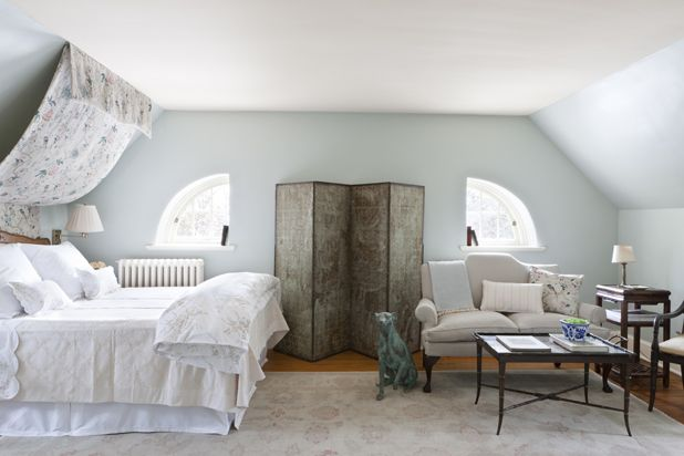 How To Work With Oddly Shaped Bedroom Walls Bedroom Makeover Wall Decor Bedroom Light Blue Bedroom