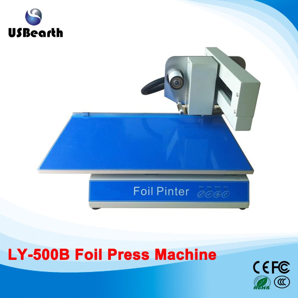 Ly 500b foil press machine digital hot foil stamping printer machine ly 500b foil press machine digital hot foil stamping printer machine best sales color business card reheart Images
