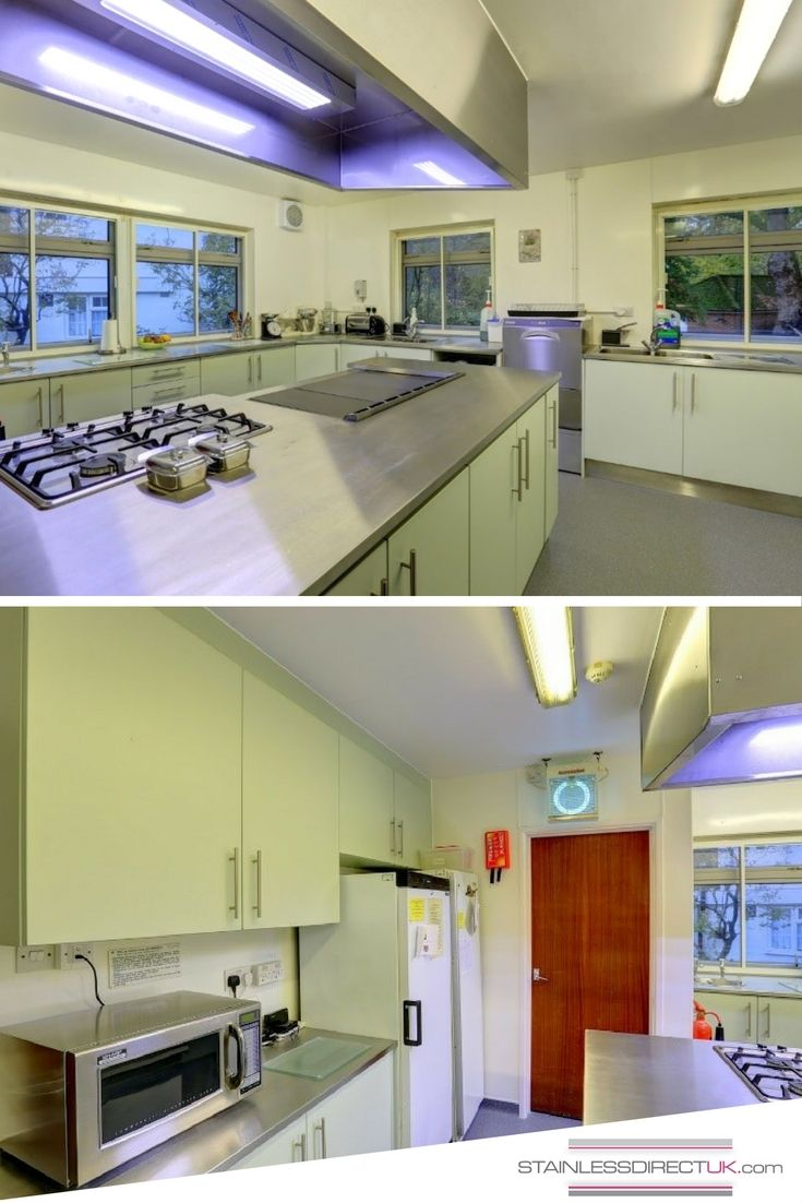 Merveilleux This Commercial Kitchen Covered Lots Of Elements That We Can Manufacture  From Worktops And Upstands To