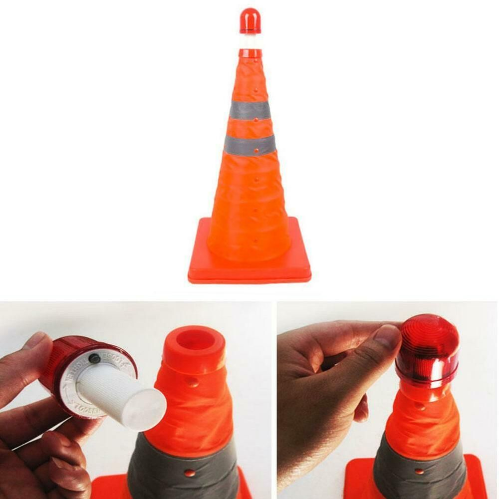 Sponsored Ebay Collapsible Folding Reflective Traffic Cones Road