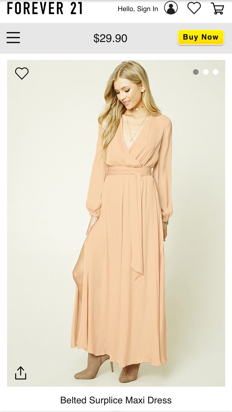 9f0b33d9cb89 Dress from forever 21