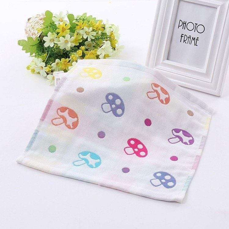 Cotton Baby Towel Handkerchief 2pcs