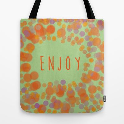 #totebag #enjoy #optimism #happiness