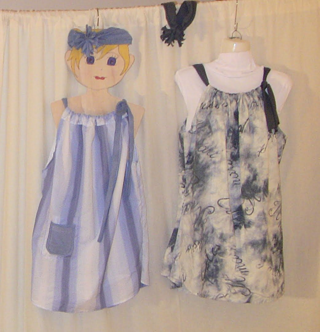 Nähen mit Claudia * Recycling - Tunika - Kleid aus Hemd