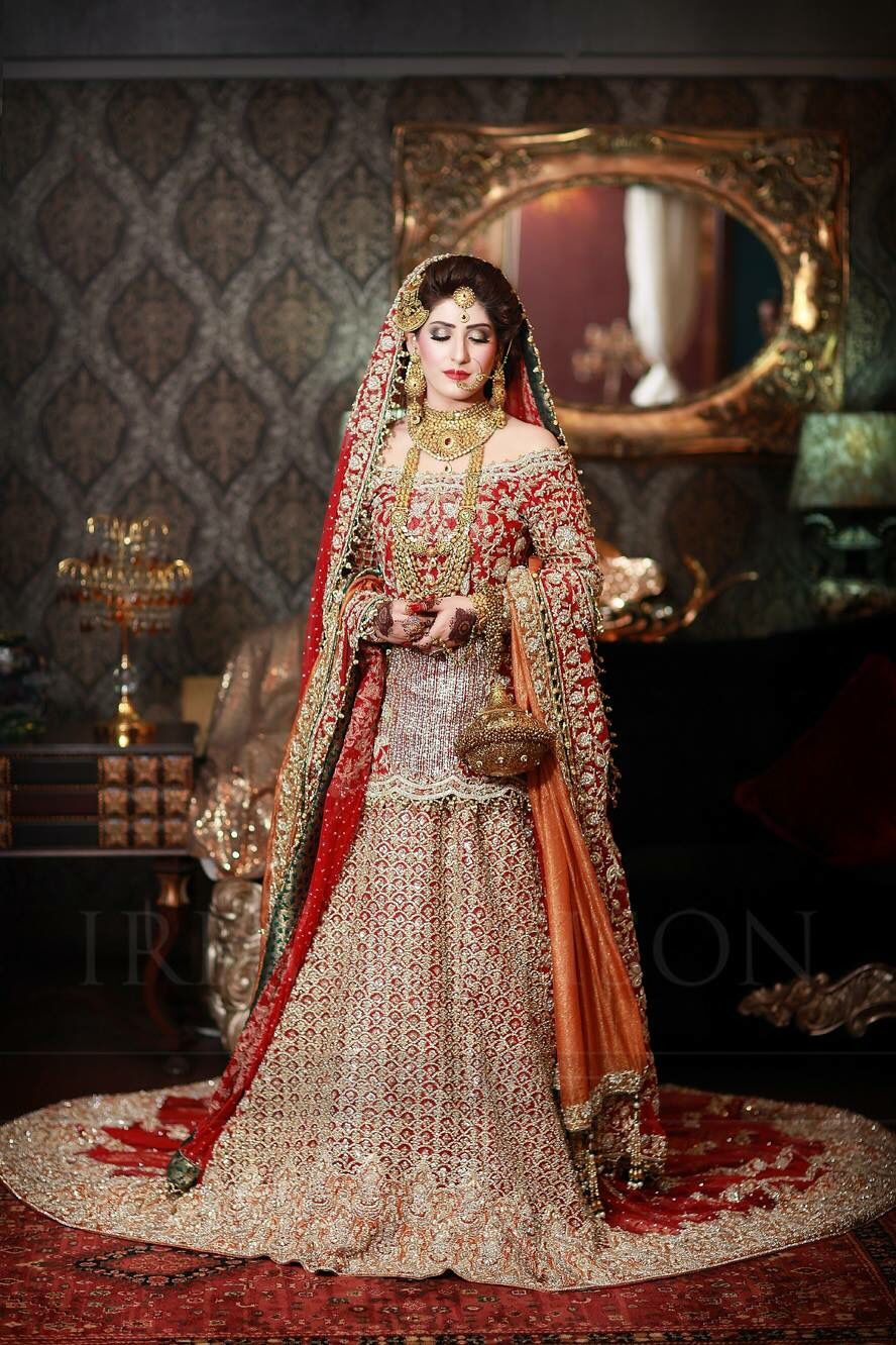 9085154779 Golden Bridal Dresses Pakistani – DACC
