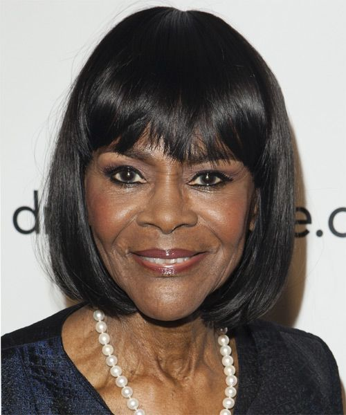 The 93-year old daughter of father (?) and mother(?), 161 cm tall Cicely Tyson in 2018 photo