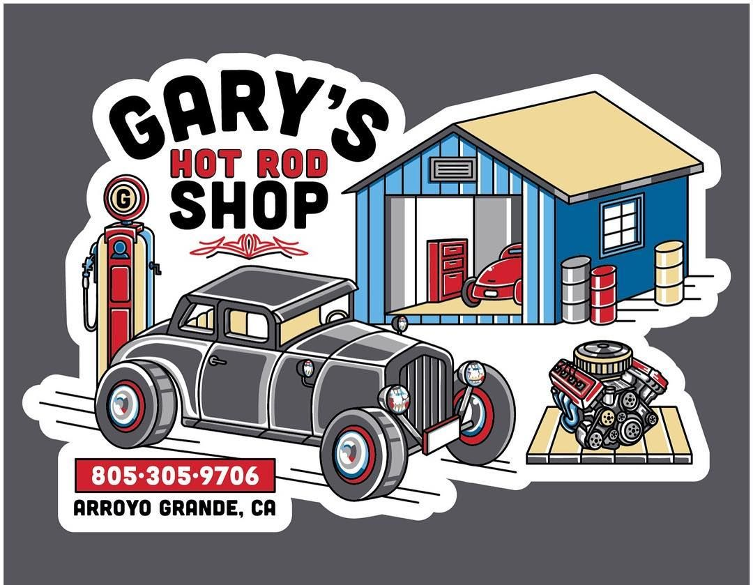 Amanda Lynn Rotta On Instagram Gary S Hot Rod Business Card Sticker Custom Vector Artwork Stickers Are In Production Thanks To Vector Artwork Hot Rods Rod [ 839 x 1080 Pixel ]