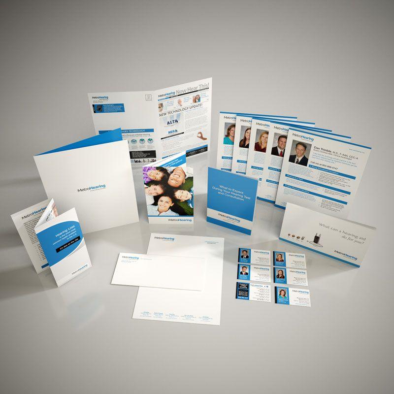 Nursing School Brochure, Newsletter, Postcard, Flyer \ Ads, Tri - healthcare brochure