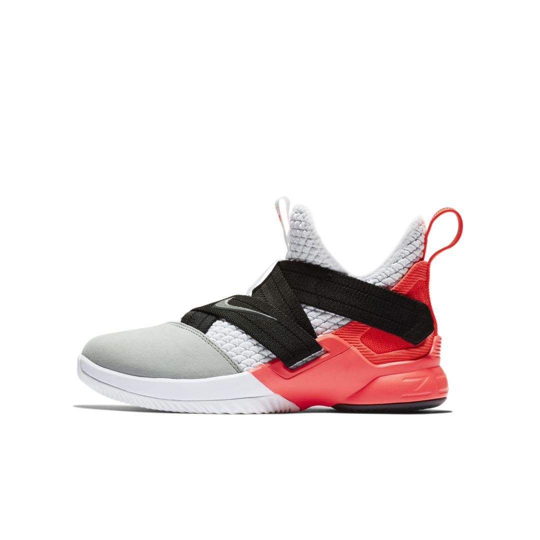 official photos 5929a 5a430 LeBron Soldier 12 SFG Big Kids  Basketball Shoe Size 6.5Y (White)