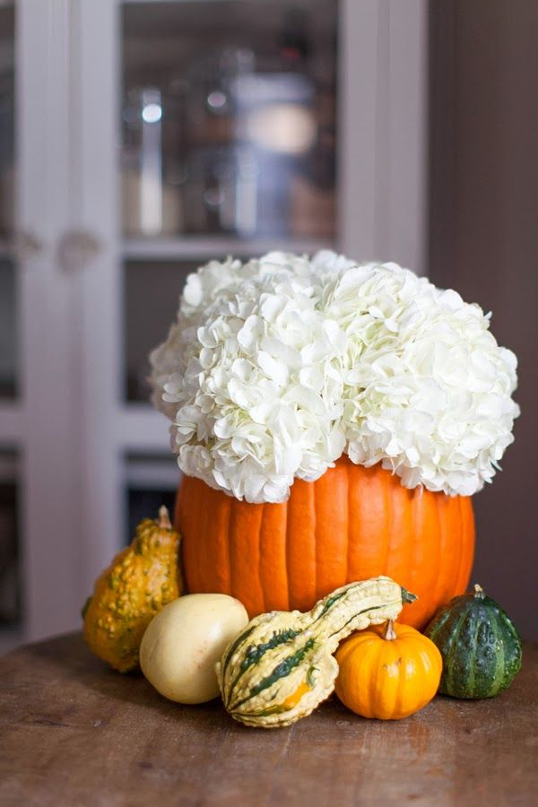 Decorative Pumpkin Arrangement