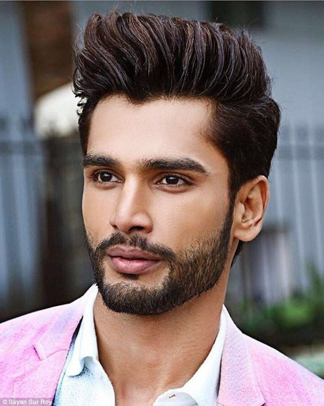 Charismatic: Theactor and model based in Mumbai worked very hard to win Mr India and Mr World, according to friend and photographer Sayan Sur Roy