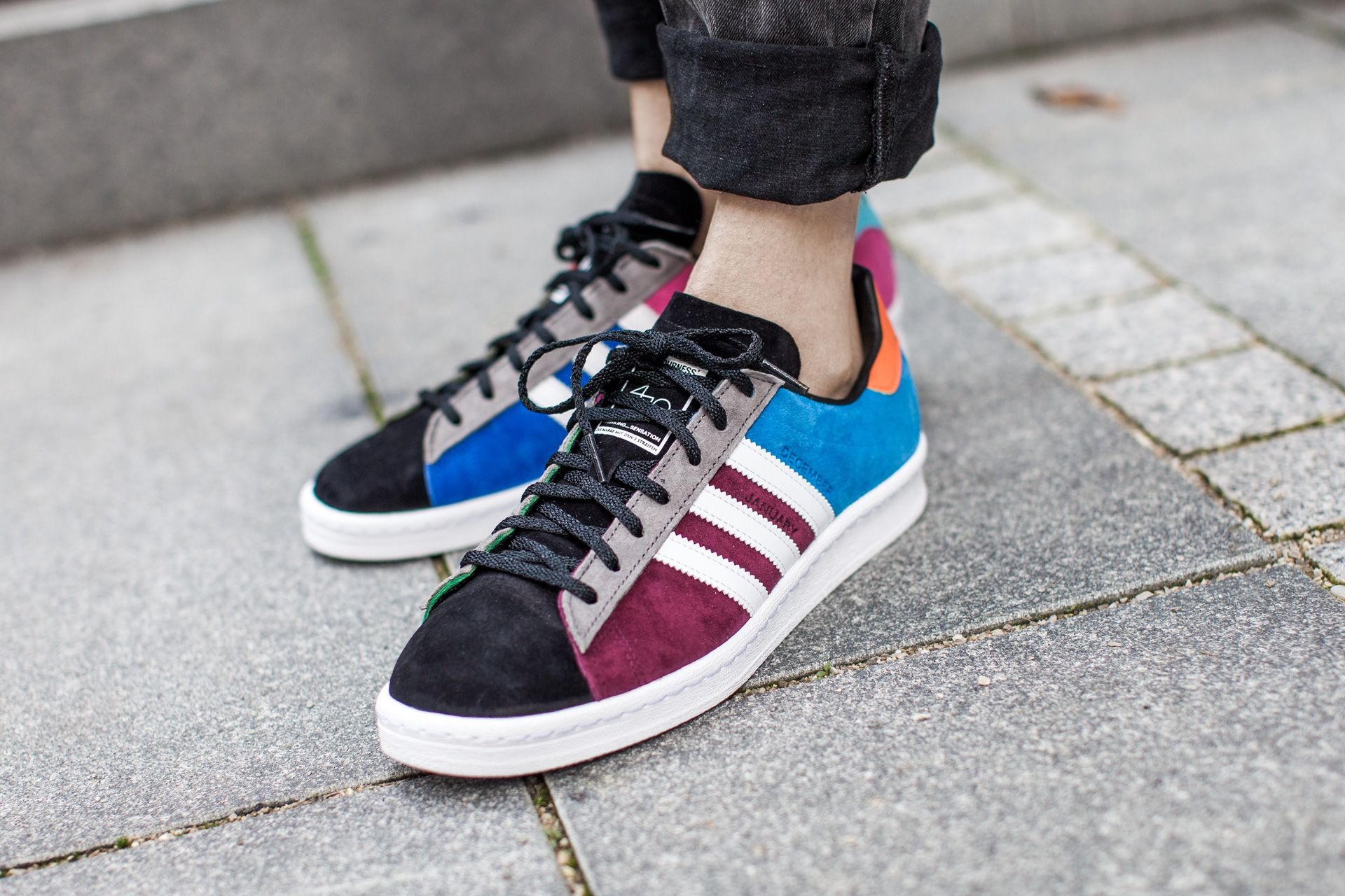 new appearance reliable quality footwear ADIDAS ORIGINALS CAMPUS 80S THE FOURNESS 'JAM HOME MADE' BRBLUE ...