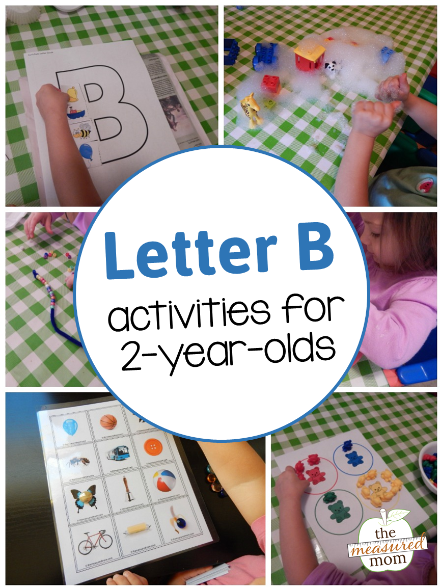 Letter B Activities For 2 Year Olds Home School Letter B